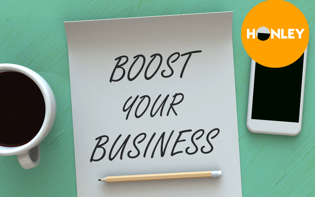 Boost your business (it costs less than 1 posh coffee per week)