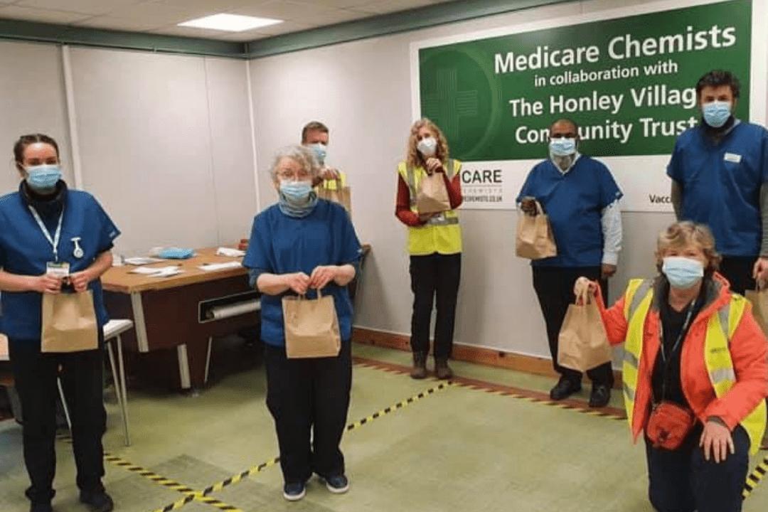 Honley Covid Vaccination Centre